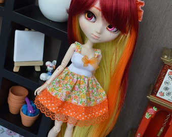 Outfit Rine orange [Pullip, Obitsu 27 cm =]