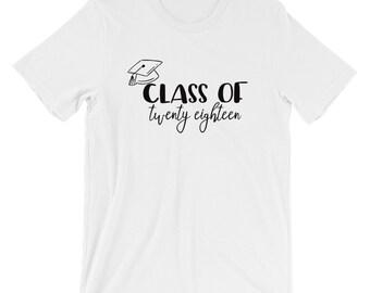 Class of 2018| Graduation Shirt| Grad T-shirt| Graduation Gift