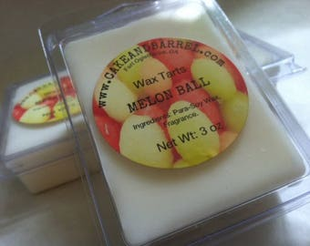 Melon Ball Wax Tarts 3oz