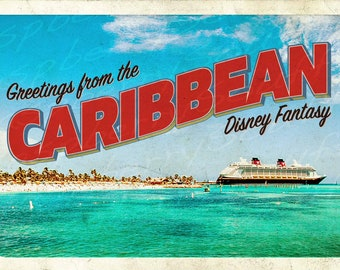 Disney Fantasy Caribbean Cruise