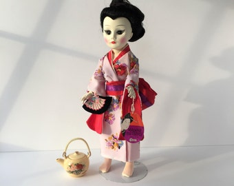 Madame Butterfly Doll, Vintage Effanbee Doll 1740, 18 Inch Doll, Madama Butterfly Collection Doll, Geisha Doll, Puccini Opera Doll
