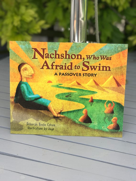 Signed book - Nachshon Who Was Afraid To Swim - Deborah Cohen (Paperback)