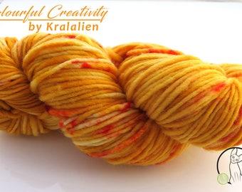 Sunny Autumn - Colourful Merino Aran *snowflake*