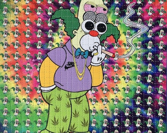 Shpongle'd Krusty Blotter Art