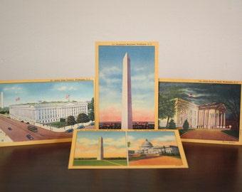 Vintage Washington D.C. Postcards