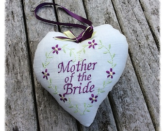 Mother of the Bride gift, Personalised Bride's mother gift, wedding gift, wedding momento
