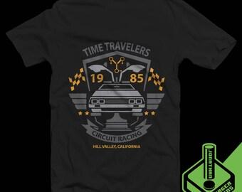 Time Travelers Circuit Racing T-Shirt