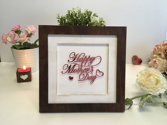Personalized Picture Memorial Frame Mothers day gift Custom frame Gift for Mum Happy Mother's day Your custom text here Wedding Gift for her