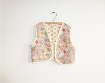 Vintage Reversible Girl's Vest