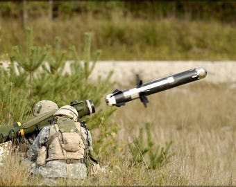 Poster, Many Sizes Available; Fgm-148 Javelin Anti-Tank Missile