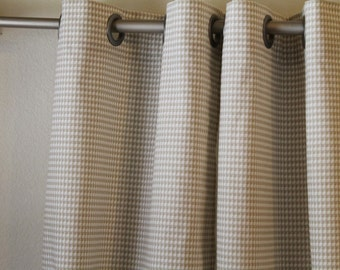 """Pair of 50"""" wide Premier Print Powder Grey rod panels drapes curtains also in storm grey 50x63 50x84 50x96 50x108"""""""