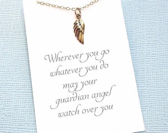 Miscarriage Necklace | Bereavement Gift, Angel Wing Necklace, Infant Loss, Condolence Gift, Sympathy Gift, Miscarry Gift, In Loving Memory 3