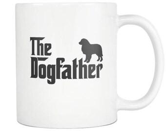 Great Pyrenees Mug , Great Pyrenees Gift, Dog Father Tea Coffee Mug