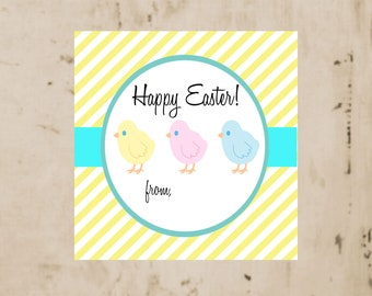 Easter tags, Easter chick tags, Easter basket tags, Spring tags, Chick tags, Easter gift tags, Gift enclosures, Easter Gift Enclosures, tags