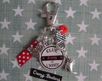 Keychain / bag friendship charm