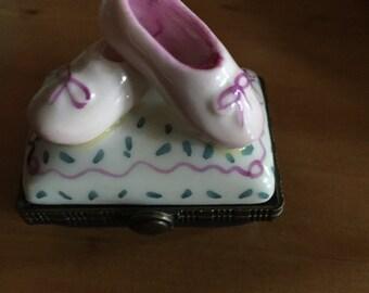Ballet Slippers Trinket Box