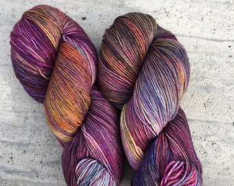 Tropical Thunder, Hand-Dyed Yarn