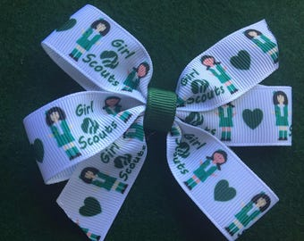 Girl Scout Hairbow