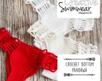 Crochet Bikini Bottom Pattern - How to make Crochet swimwear - how to make crochet bikini