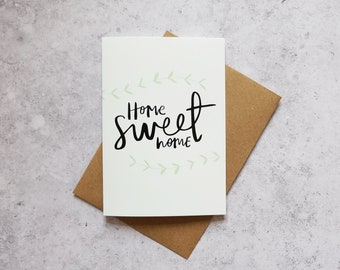 Home Sweet Home // Greeting Card