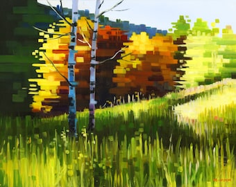 Love Of The Land, Logan Canyon, Utah- Matted Limited Edition Print, 8x10 and 11x14