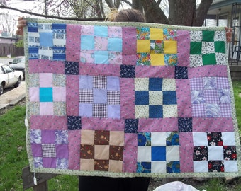 Pauline's One of a Kind Baby Quilt