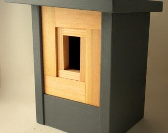 Modern Craftsman Birdhouse- The Camera Shutter