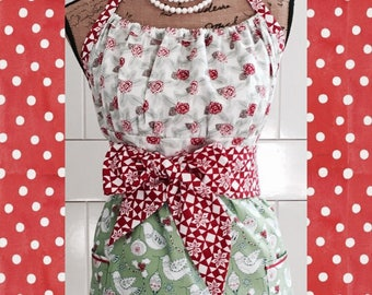 Holiday apron by Kate Spain for Moda