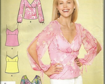 Simplicity 4227 It's So Easy  Top Pattern SZ 8-18