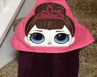 Little Princess Hooded Towel