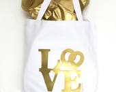 Large Tote Bag with Love ...