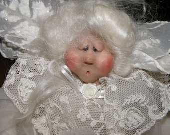 Angel by Mary Lou Wayne Character Doll Studio 18 inch original