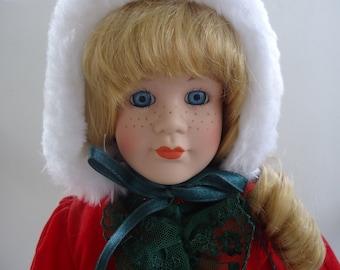 Brinn's Christmas Doll 1991
