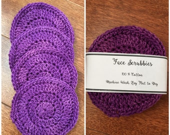 Cotton Face Scrubbies