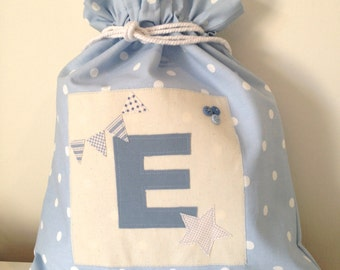 Personalised Initial Drawstring Bag
