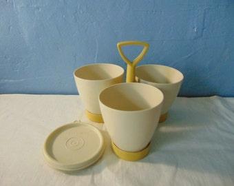 Tupperware Condiment Set