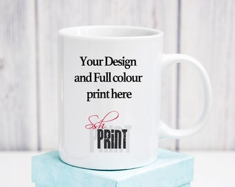 Personalise your Own Mug - available in standard or colour changing