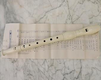 Holzner Recorder Vintage French Musical Instrument
