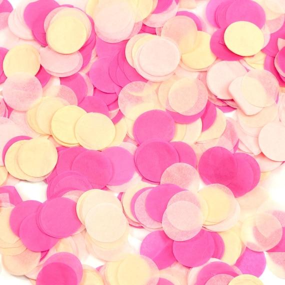 Strawberry Sangria Confetti, Pink Peach Confetti, Shred, Table Decor, Confetti Balloon, First Birthday, Bachelorette, Baby Shower, Wedding