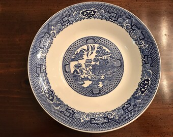 Willow Ware Blue Willow Soup Bowl by Royal China