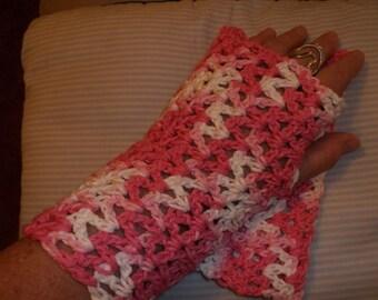 Varigated Pink Gauntlets