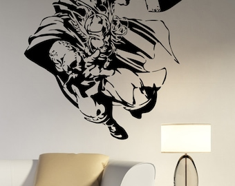 Thor Wall Decal Vinyl Sticker Avengers Superhero Art Movie Decorations for Home Kids Boys Room Bedroom Playroom Marvel Decor thr1