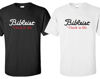 "New ""Bibleist"" T-Shirt 