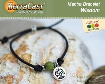 TierraCast DIY Wisdom Mantra Bracelet Quick Kit