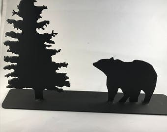 Animal with Tree Standing Scene