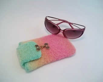 Felted Glasses Case, pdf pattern. Instant Download