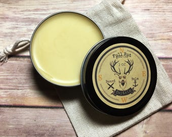 Captain Handmade Beard Balm All Natural Beard Salve Wax Styling Conditioner Pomade 2oz
