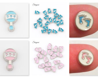 Baby Theme Floating Charm for Glass Memory Locket FC21 - 1 Charm