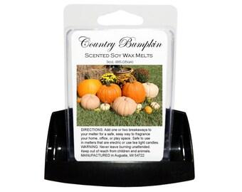 COUNTRY BUMPKIN Soy Wax Melts // Wax Tarts // Soy Tarts // Candle Tarts // Melting Tarts // Scented Tarts