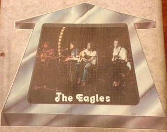 The Eagles Vintage Iron On Transfer